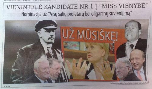 """Respublika"" prieš D. Grybauskaitę (3)"
