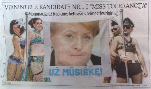 """Respublika"" prieš D. Grybauskaitę (6)"