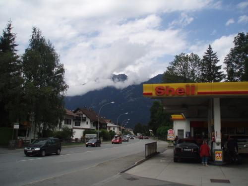 Pirmieji Alpių vaizdai netoli Vokietijos-Austrijos sienos