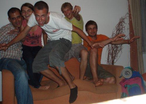 """Couch surfing"" Varšuva"