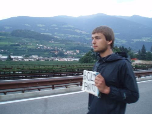 Vakaras Italijos Alpėse: šlapias ir piktas