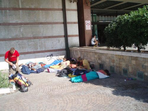 """""""Hostelis"""" gryname ore Venecijos traukinių stoties pašonėje"""