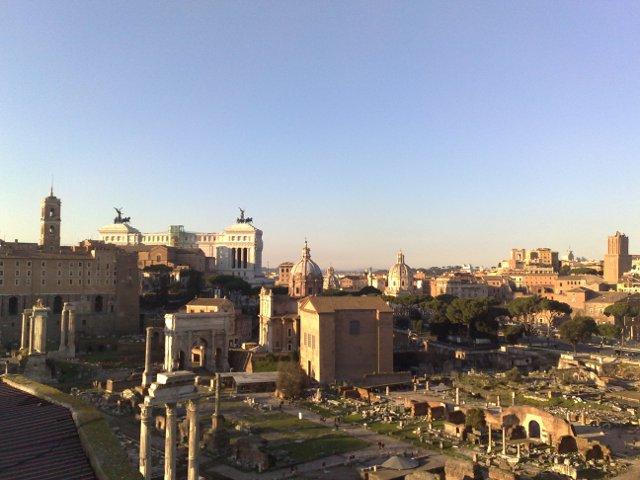 Romos širdis. Čia kadaise vedė visi keliai